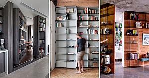 13 نمونه خلاقانه از طراحی درب های مخفی!