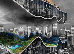 کارخانه کلانشهر عمودی رتبه دوم جایزه ایولو 2017