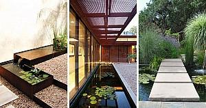8 ایده طراحی لنداسکیپ و فضای سبز