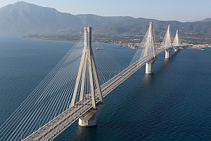 نوروز 96: مستند پل ریون آنتریون یونان یونان بزرگترین پل کابلی جهان