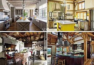 29 ایده طراحی داخلی آشپزخانه به سبک روستیک