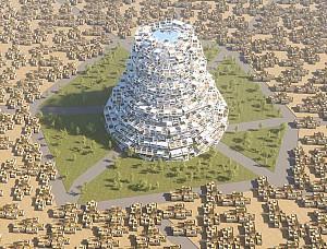 طراحی مفهومی برج بابِلی از دانشجویان ترکیه ای