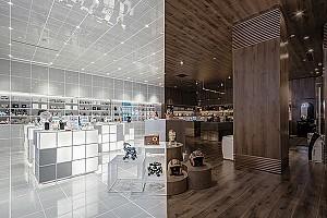 قدم در نیمروز گذشته و آینده با طراحی داخلی فروشگاه Chick bus