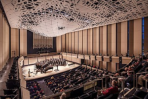 طراحی سالن کنسرت موسیقی Voxman