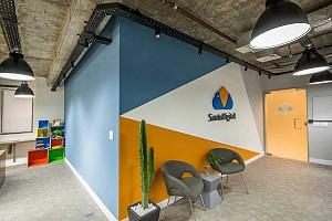 طراحی داخلی شرکت تکنولوژی سانتو