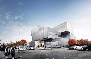 طراحی ساختمان اداری پلیس نیویورک از گروه معماری BIG