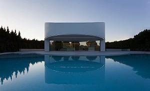 طراحی و معماری ویلا بالینت در اسپانیا