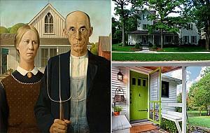 آشنایی با سبک های معماری داخلی: گوتیک آمریکایی