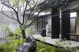 بهترین نمونه های بازسازی حیاط خلوت مدرن در ساختمان های سنتی چین
