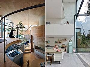 11 نیم طبقه جذاب که به طراحی فضای مسکونی شما کمک می کند