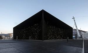 تیره ترین بنای روی زمین در المپیک زمستانی 2018