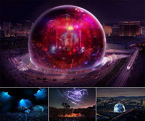 طراحی سالن اپرا و کنسرت کره ای شکل با قابلیت نمایش 360 درجه