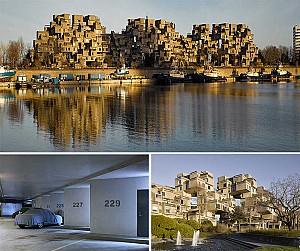 عکاسی پروژه مجتمع مسکونی 67 موشه سفدی ابه وسیله جیمز بریتان