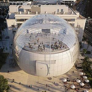طراحی موزه و  مرکز فیلم سازی لس آنجلس از رنزو پیانو
