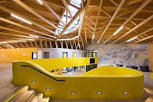 معماری و طراحی داخلی فضای اقامتی- ورزشی مقرون به صرفه