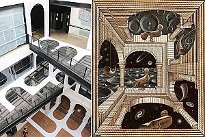 دگرگونی مفهوم زمان و مکان در اثر طراحی شده توسط ژاکلین کیوتو