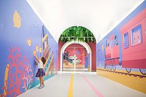 طراحی رنگارنگ مرکز آموزشی کودکان در شانگهای چین