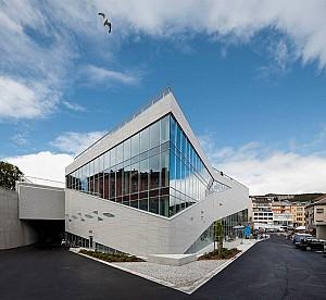 طراحی مرکز فرهنگی Plassen  از گروه معماری 3XN