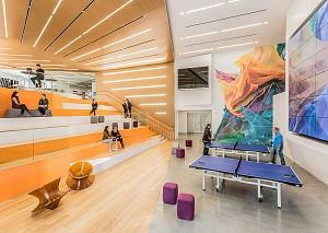 طراحی داخلی دفتر اداری شرکت Adobe