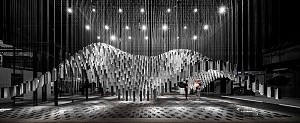 طراحی غرفه نمایشگاهای با آلومینیوم و شیشه