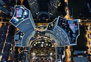 هتل تفریحی لوکس دوقلو سنگاپور