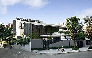 طراحی ویلا Dong Anh در ویتنام با رعایت اصول معماری پایدار