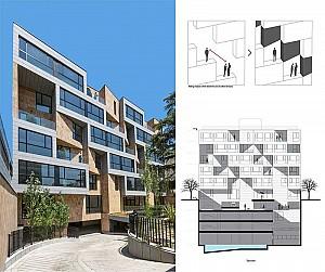 طراحی آپارتمان مسکونی گلستان تهران
