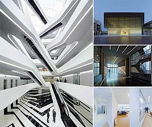 کاربرد خلاقانه نورهای خطی در 5 پروژه معماری جالب توجه