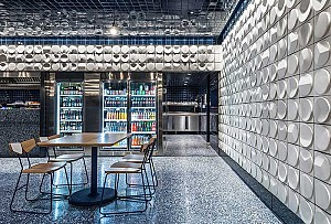 طراحی داخلی رستوران 240 متری با تِم مکزیکی مدرن