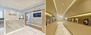 طراحی داخلی اداری شرکت مد و فَشن موژه در دبی