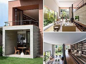 طراحی خانه مدرن 500 متری پینیروس