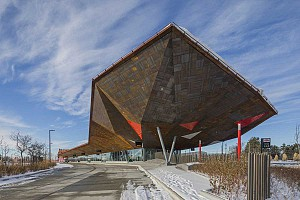 طراحی ایستگاه متروی دهکده پایونیر در کانادا
