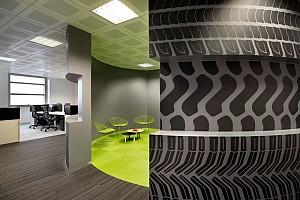 طراحی داخلی دفتر شرکت لاستیک میشلن