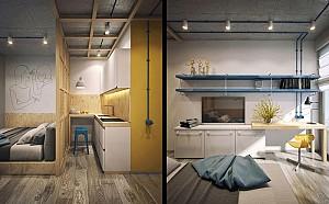 بررسی طراحی داخلی5  سوئیت مدرن