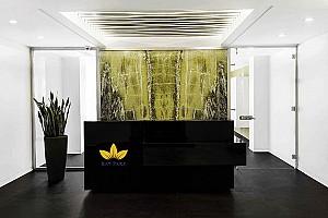 طراحی داخلی دفتر مرکزی بی ای تی در تهران