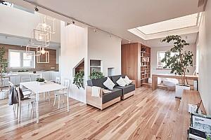 طراحی داخلی منزل دوبلکس شیک، مخصوص خانواده جوان