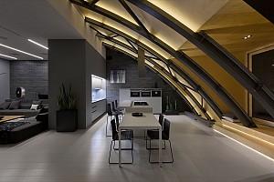 50 طراحی مدرن از فضای غذا خوری