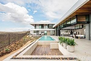 معماری و طراحی داخلی ویلای مدرن، با چشم انداز ویژه