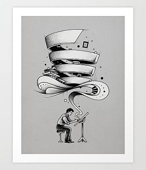 40 پوستر خلاق معماری برای کسانی که عشق به هنر دارند!