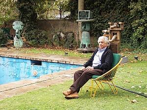 دوشنبه های هنرهای تجسمی: پرویز تناولی، مرد مجسمه های فولادی