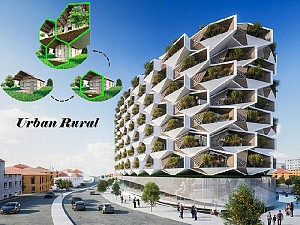 طرح پیشنهادی ساختمان مسکونی با عنوان