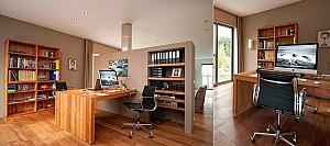 36 نمونه طراحی فضای کار خانگی الهام بخش، مخصوص دو نفر