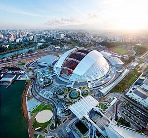 نگاهی به معماری ورزشگاه ملی سنگاپور