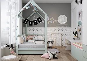 ایده هایی برای طراحی اتاق خواب کودکان و نوجوانان!