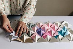 دوشنبه های هنرهای تجسمی: اوریگامی و کاربرد آن در معماری