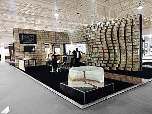 غرفه نمایشگاهی شرکت صنایع سنگستان محلات