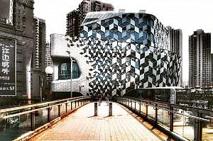 مجتمع تجاری_اداری (Lane 189) در شانگهای چین