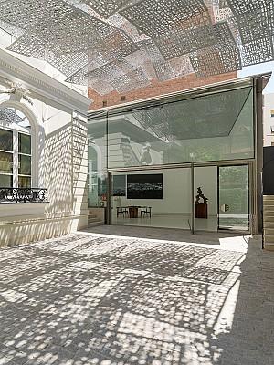 غرفه نمایشگاهی بنیاد نورمن فاستر در مادرید