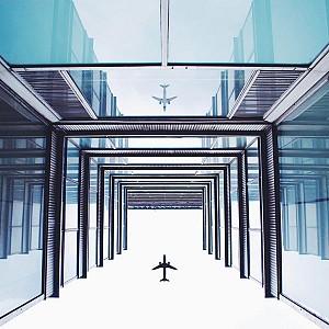 یک شنبه های عکاسی: معماری و هواپیما ها