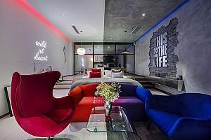 طراحی داخلی و دکوراسیون هتل آرتیستیک My Line